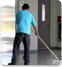 Photo of a commercial cleaner and janitor in Southern Minnesota